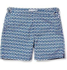 Orlebar BrownBulldog Mid-Length Printed Swim Shorts