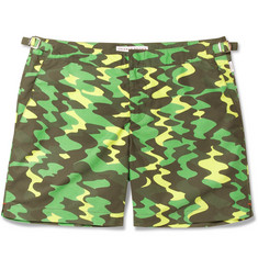 Orlebar Brown Bulldog Camouflage-Print Mid-Length Swim Shorts