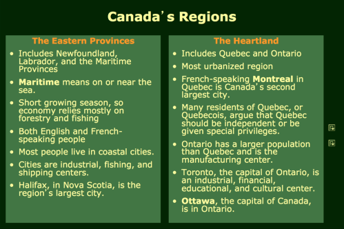 small resolution of Canada Notes - Mr. Peinert's Social Studies Site