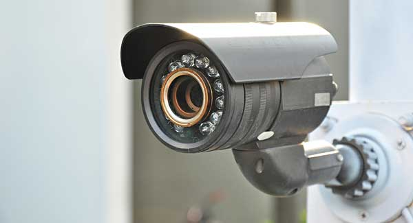 CCTV camera lens cleaning