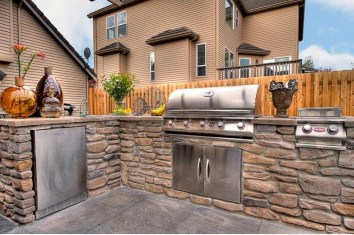 outdoor kitchen weatherproofing