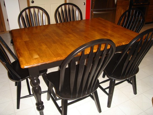 cleaning wooden furniture