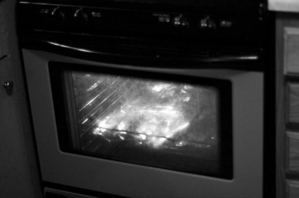 sparking microwave