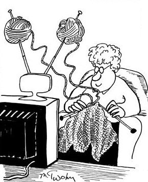 Mrs. Bear's World: Some amusing knitting graphics