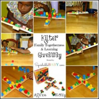 Kilter for family togetherness and learning - Giveaway