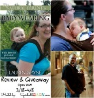 The Natural Parents Guide to Babywearing - Review and giveaway @hobo-mama