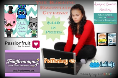 #bloggers enter the Blogging Essentials #Giveaway & #win subscriptions to @picmonkeyapp @inlinkz free blog designs via @ambergalore and more  RV $440