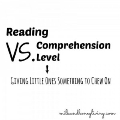 Reading vs. comprehension #literacy Can kids understand beyond the stated reading level