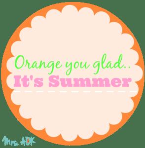 orange you gladWM