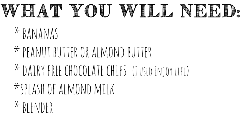 What you will need Nice Cream