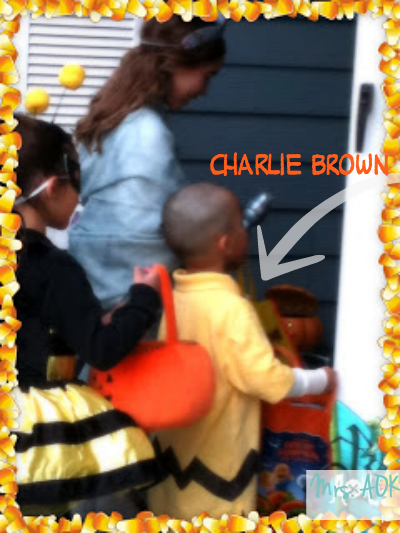 Charlie Brown, Lady Liberty, and the Bumble Bee 2011