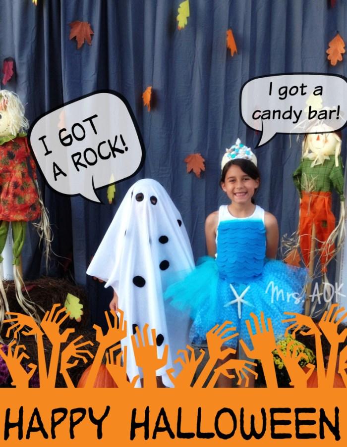 I got a rock! Last minute DIY Halloween Costume|Charlie Brown|DIY