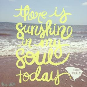 Sunshine South Carolina