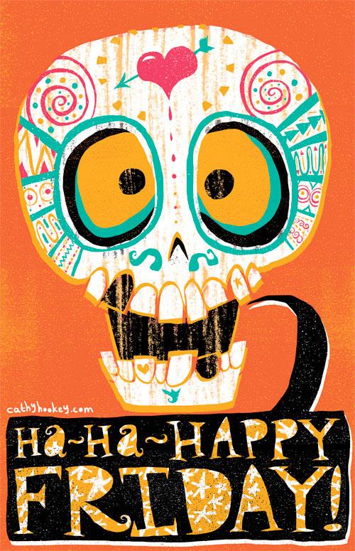 Happy Friday:Cathy Hookey