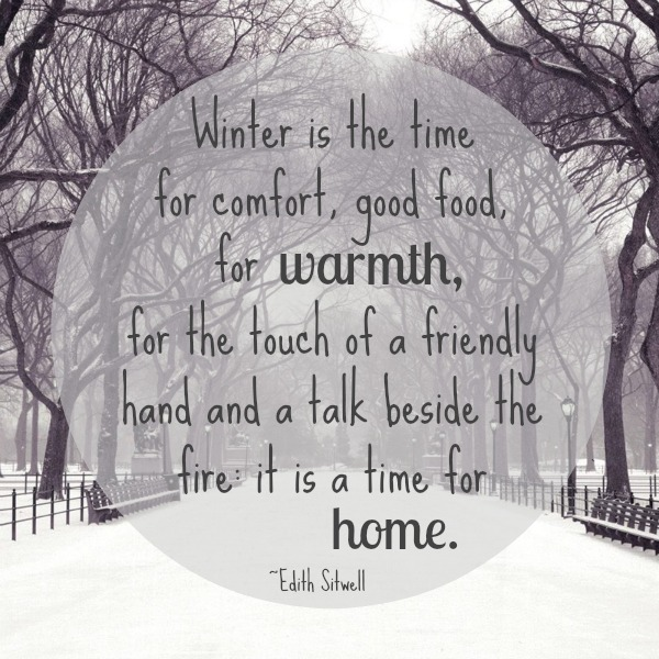 That's What She Said:Edith Sitwell |Quote|Women's Words|Linkup|Winter