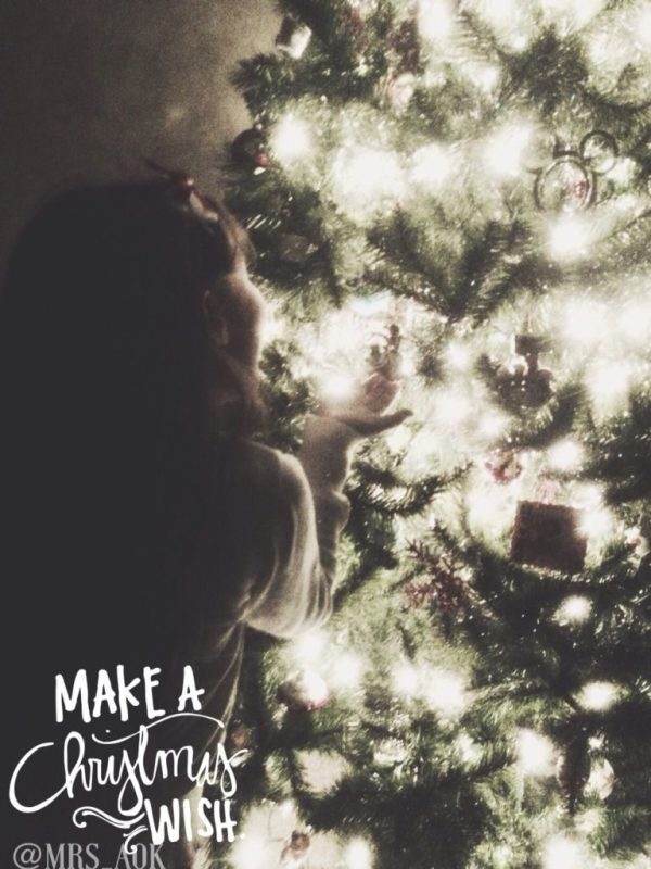 Make A Christmas Wish 2014| Mrs. AOK, A Work In Progress