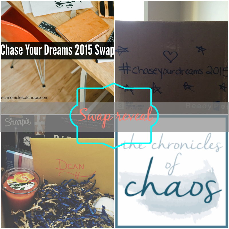 #ChaseYourDreams2015 Swap Reveal