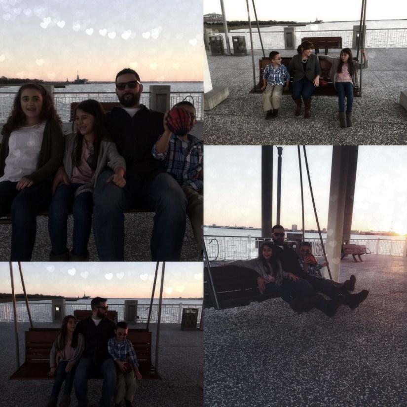 Swinging on the pier ) Mrs. AOK, A Work In Progress