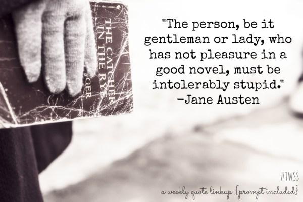 #TWSS Jane Austen