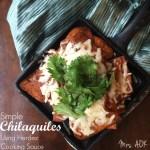 Simple Chilaquiles using Herdez