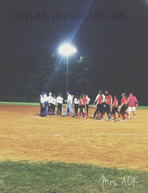 Good Game| Softball