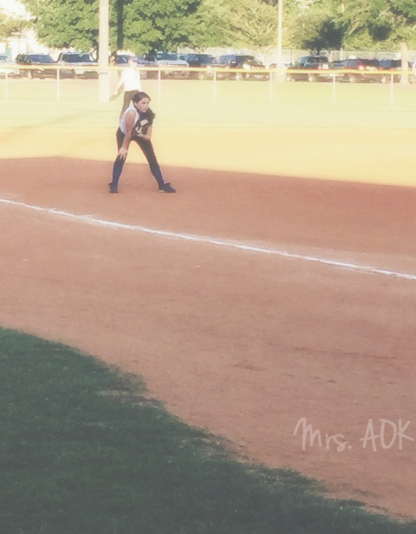 The Catcher Playing 3rd| Softball