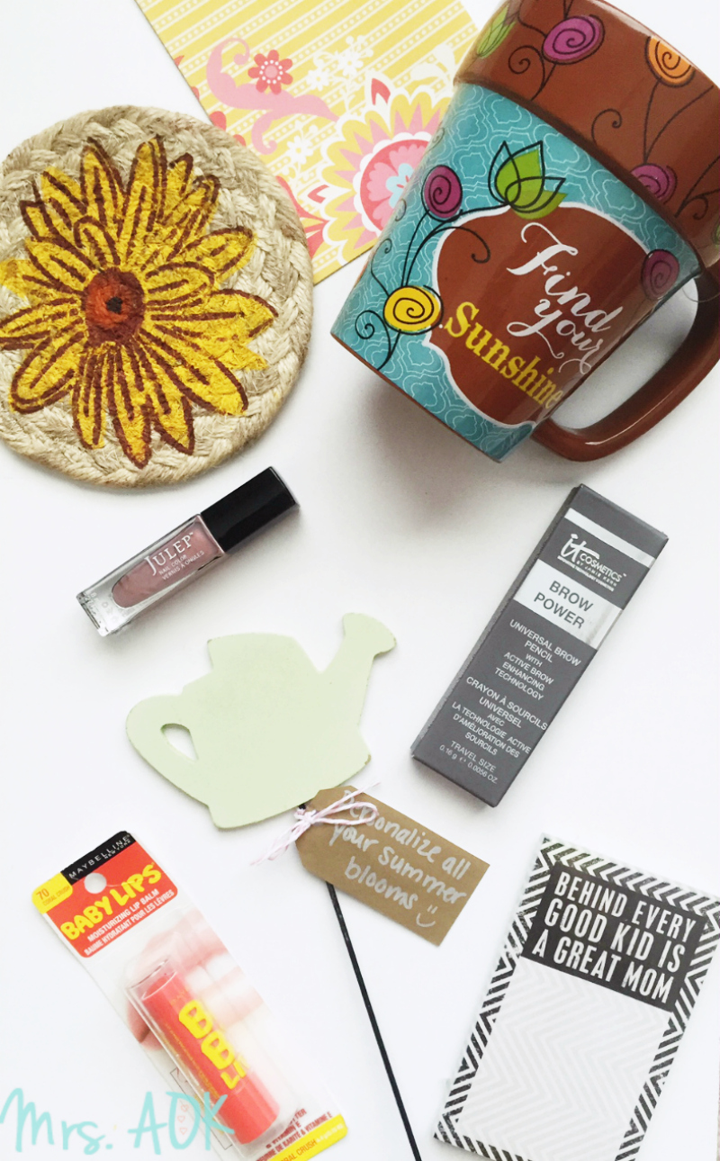 #SunshineBoxSwap Reveal| Blogger Happy Mail Swap| Snail Mail| Mrs. AOK, A Work In Progress