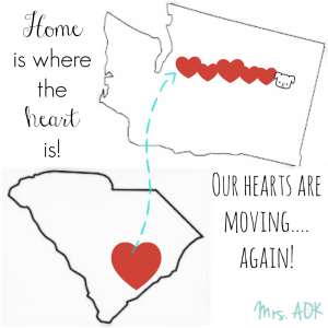 Home is where the heart is SC to WA