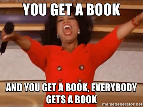 Oprah| You Get a Book