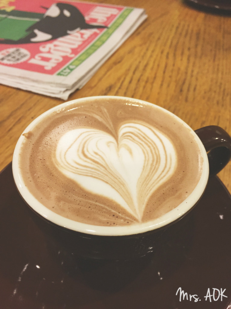 Hot Cocoa Heart Seattle Thank You Notes