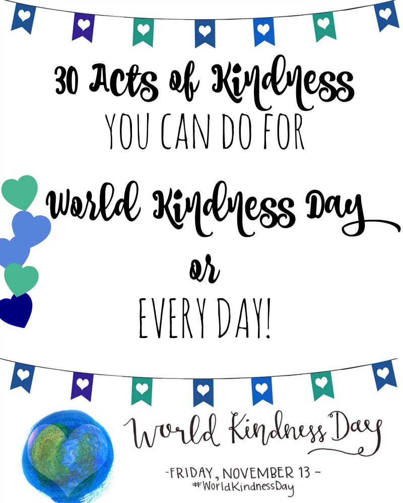 30 Random Acts of Kindness RandomAOK Mrs. AOK, A Work In Progress|Join the Kindness Challenge!!