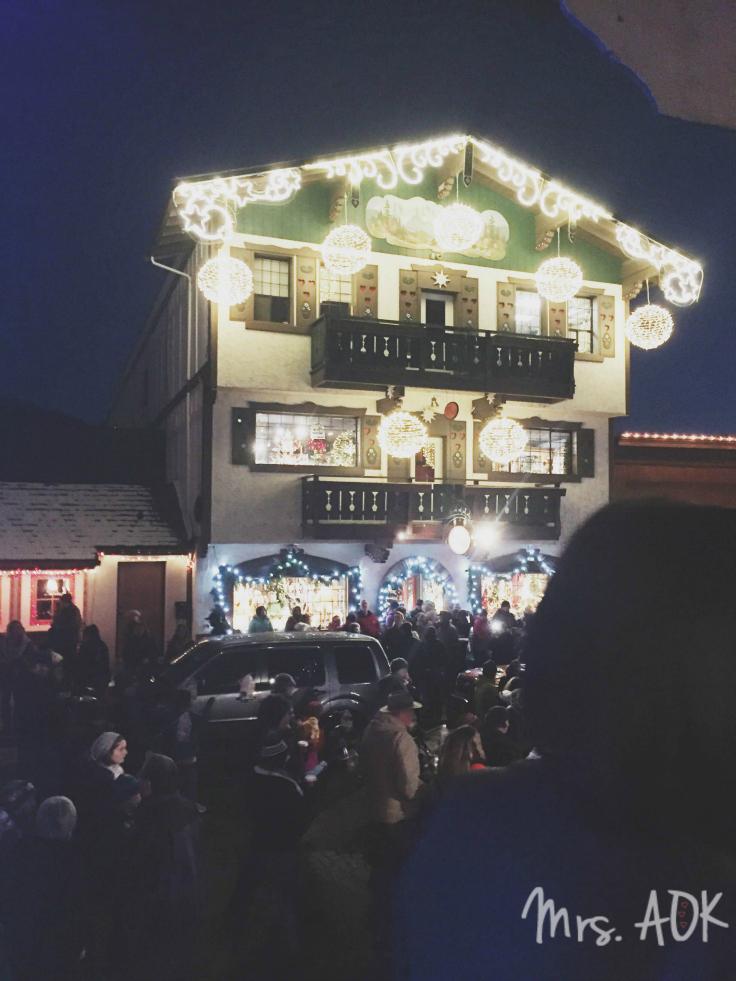 Lights in Leavenworth WA