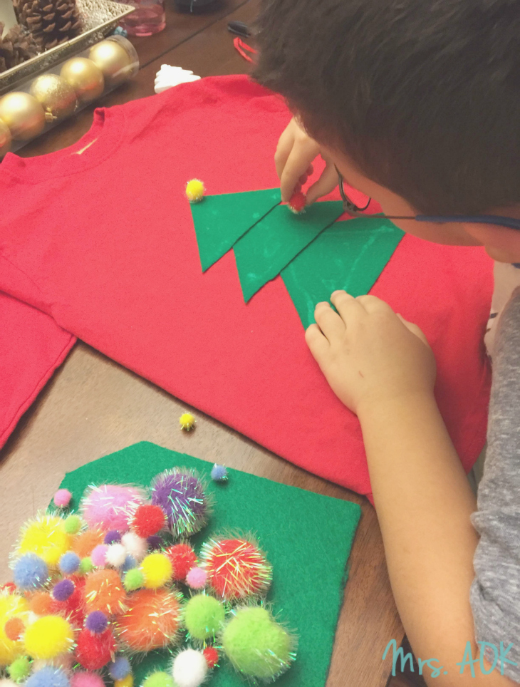 Making Christmas Ugly Sweaters