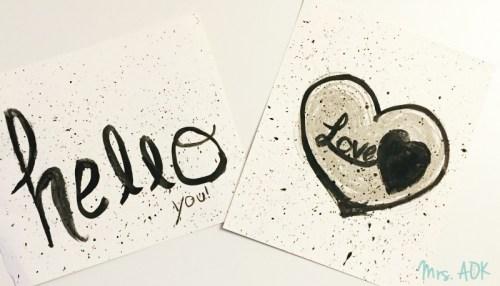 Baby girl's art |Hello love