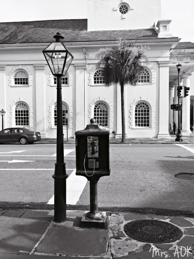 Payphone Downtown Charleston, South Carolina