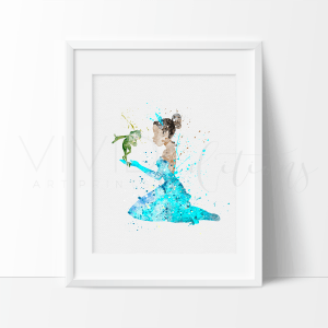 Princess Tiana| Vivid Editions