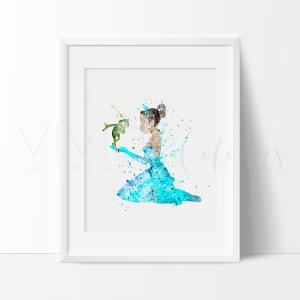 Princess Tiana| Vivid Editions