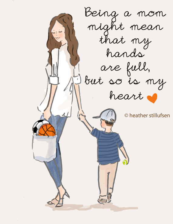 My heart is full| Motherhood| Mommy Monday