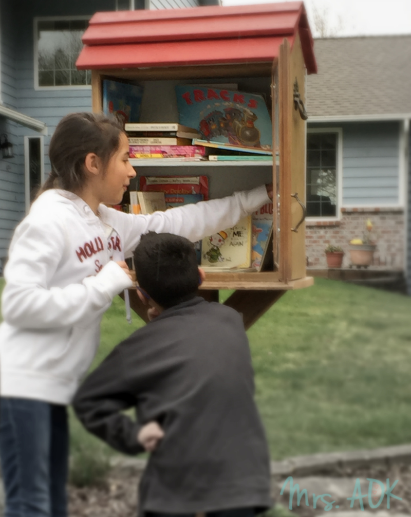 Thank You Notes: Little Library