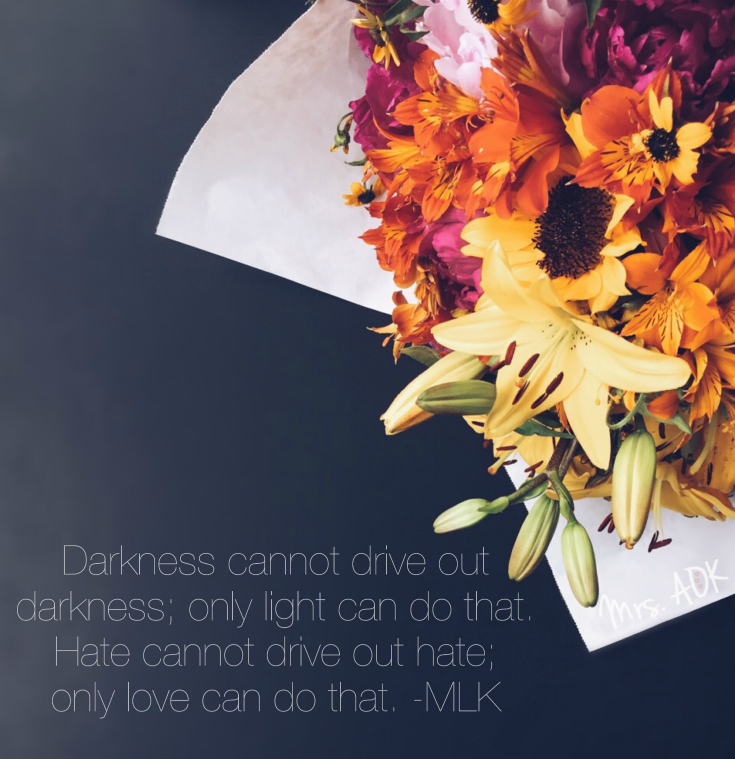Martin Luther King Jr. Quote| Mrs. AOK, A Work In Progress