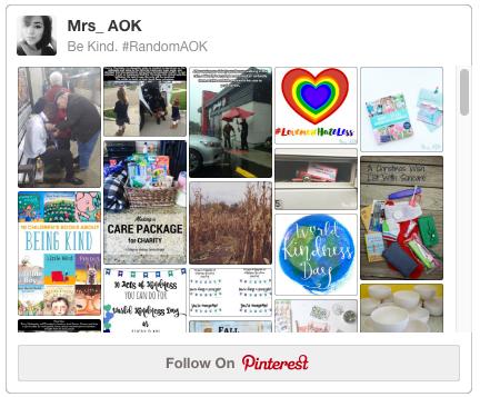 Kindness Pinterest Board