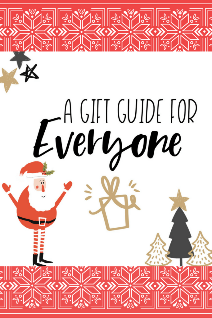 It's Day 3 of 12 Days of Blogmas. Today, I'm sharing a gift guide for EVERYONE!
