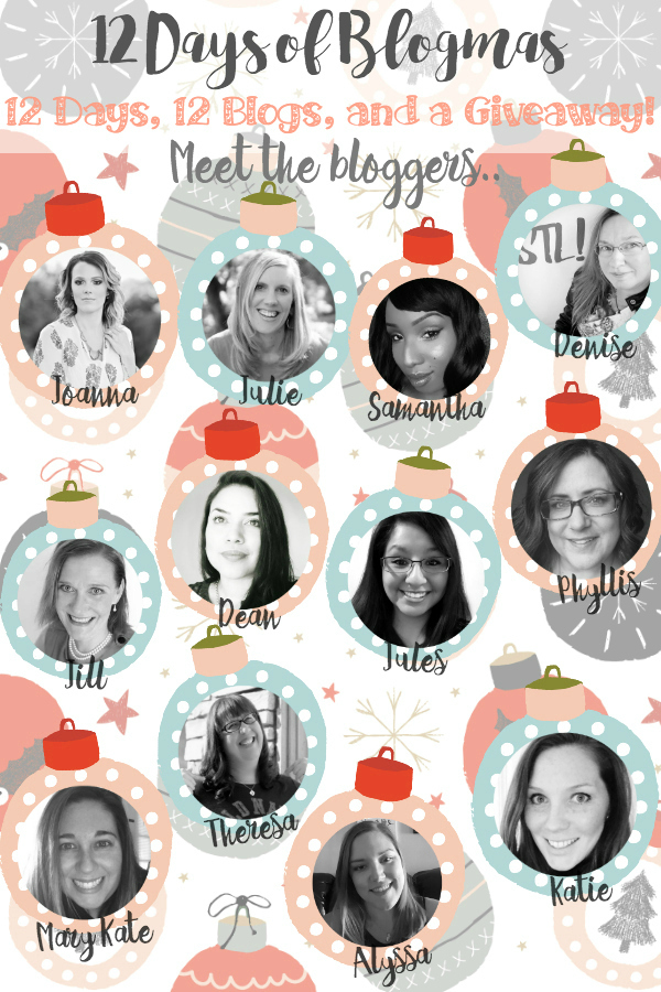Meet the 12 Days of Blogmas bloggers: We're sharing 12 Days of holiday cheer and one HUGE giveaway you don't want to miss!! ;)