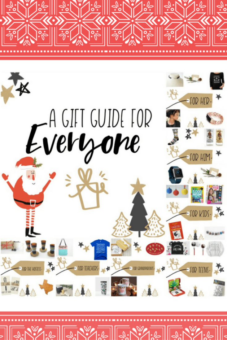 You get a gift, you get a gift, EVERYONE GETS A GIFT in this year's gift guide. :)