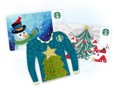 Gift guide for creative ladies: Starbucks gift cards