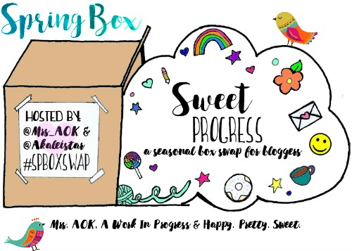 #SPBoxSwap SPRING Blogger-to-blogger box swap