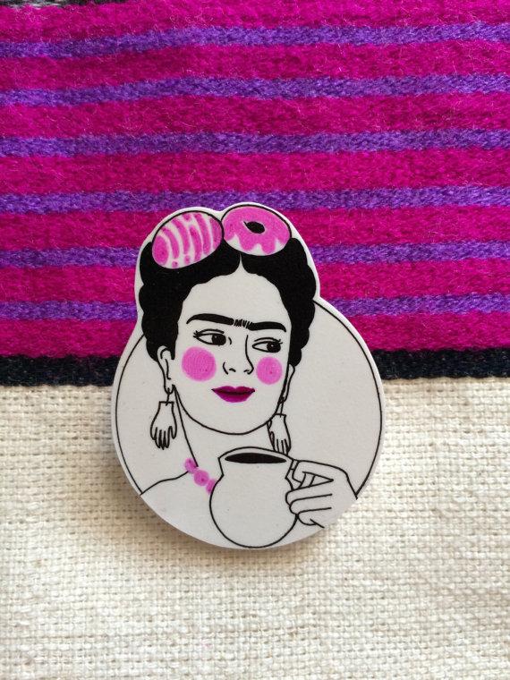 Frida Pin via My Frida Shop