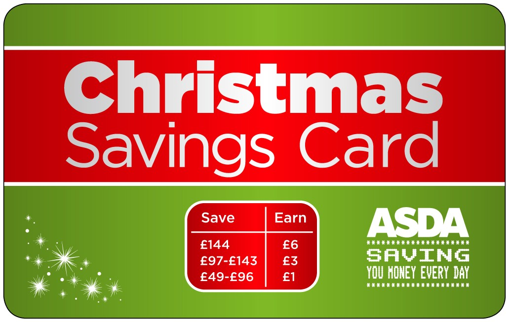 Christmas Savings Card Budgeting Tool Idea Money