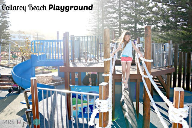 Collaroy Beach playground 1