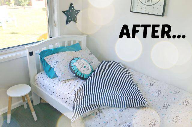 boys bedroom makeover - after